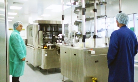 Pharmaceutical machinery construction
